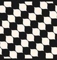 seamless pattern diagonal wavy shapes vector image