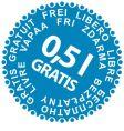 sale stickers gratis vector image vector image