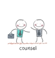 counsel vector image vector image