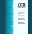 broshure design template vector image