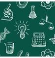 Science Icons Sketch vector image