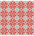 Seamless Ornamental knitting pattern vector image