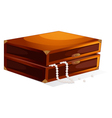 jewellery box vector image