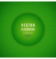Green abstract background Green digital background vector image