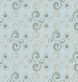 Abstract pattern of curls vector image