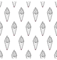 Ice Cream Easy Pattern Linear-34 vector image