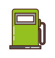 station service pump icon vector image