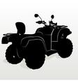 Contour ATV vector image vector image