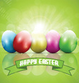 easter eggs 2302 vector image