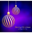 Abstract Christmas ball from paper vector image