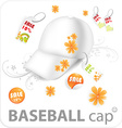 Summer on Cap Design vector image