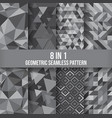 geometric seamless pattern background vector image