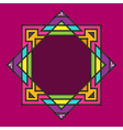 geometric frame vector image