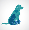 Pets group vector image