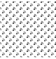 Seamless pattern of cat or dog footprint vector image