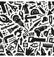 work tools - seamless background vector image