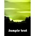 Rainforest vector image