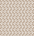 Delicate seamless pattern with half circles vector image vector image