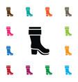 isolated boots icon wellies element can be vector image