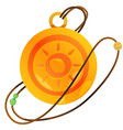 magic round locket for gaming mobile applications vector image