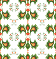 seamless patterns on white background vector image