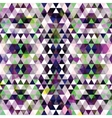 Triangular Mosaic Purple Background vector image vector image