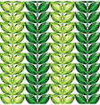 Emeralds leaves seamless texture vector image