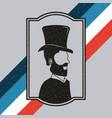 gentleman barber shop vector image