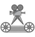 Overhead projector vector image