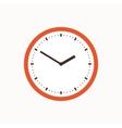 Colorful clock icon vector image