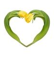 Heart-shaped frame EPS 10 vector image