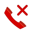 No Calls vector image