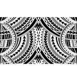 samoa style ornament vector image