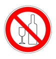 No drinking sign 304 vector image
