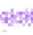Abstract square lilac background vector image