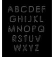 alphabet Design elements vector image