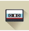 cassette news record graphic vector image