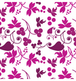 floral filigree background vector image vector image
