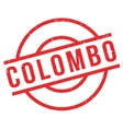 Colombo rubber stamp vector image