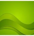 Bright wavy design vector image