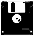 floppy disk vector image vector image