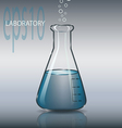 Laboratory Tube vector image