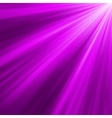 Violet luminous rays background vector image vector image