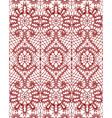 beautiful delicate openwork lace vector image