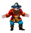 pirate the jolly sailor vector image