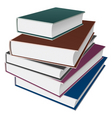 Books notebooks vector image