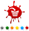 Buy blot vector image
