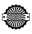 circle seal stamp frame vector image