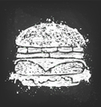 burger vector image