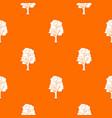 tree pattern seamless vector image
